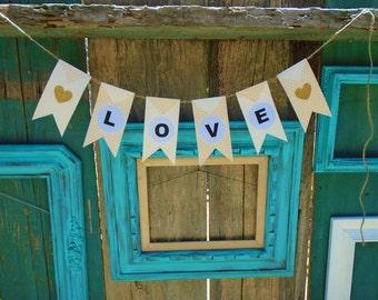 LOVE Handmade Banner