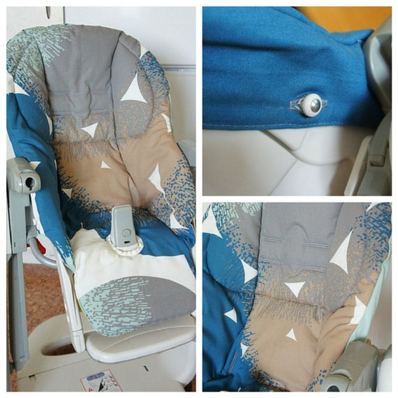 Double sided Peg Perego Tatamia high chair cover Siesta