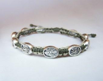 St Michael Guardian Angel bracelets