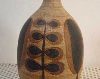 Vintage stoneware vase.