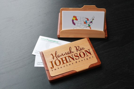 Custom Business Card Holders