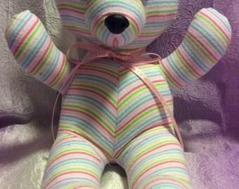 Receiving Blanket Teddy Bear