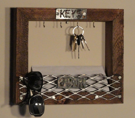 Key Holder Rustic Mail And Key Holder Mail And Key
