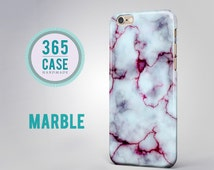 iPhone 6 case Marble White Red Cover Natural Stone iPhone 5c case iPhone 5s case iPhone SE Samsung Galaxy S3 S4 S5 Galaxy s5 mini s4 mini