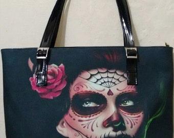 Catrina shoulder bag by Cultura InkFest