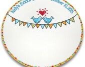 Love Bird Bunting Signature Platter