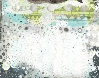 Whale Art, Whale Painting , Nautical Wall Art , Large Art Print , Canvas Print , Whale Wall Decor
