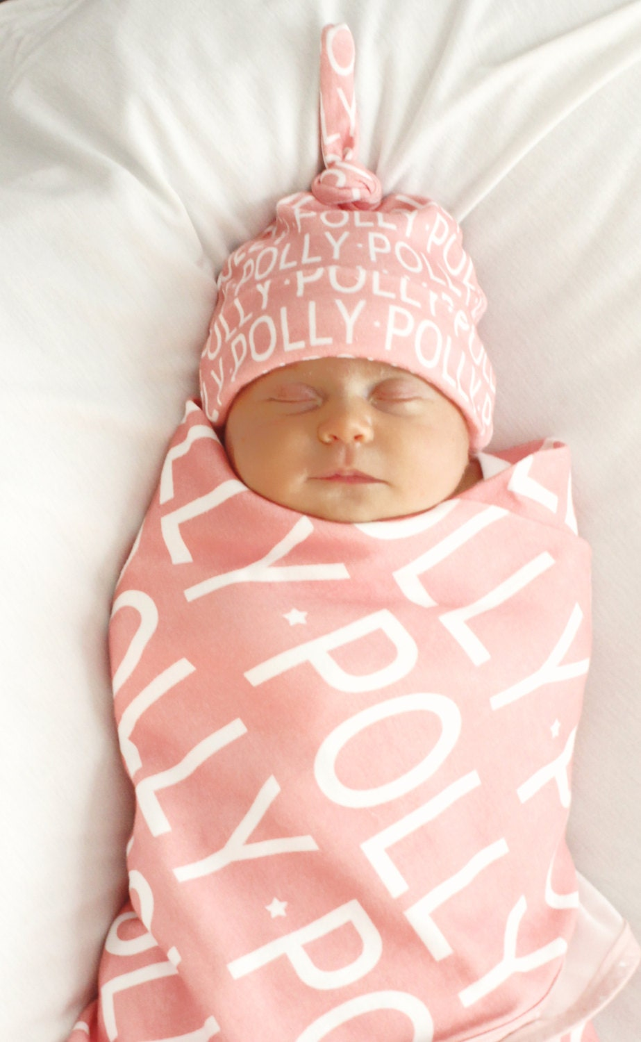 Personalized baby blanket and hat set organic knit swaddle personalized baby blanket and hat set organic knit swaddle petunias name baby blanket shower gift birth announcement photo prop newborn negle Image collections