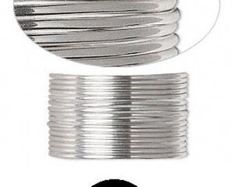 Quality Sterling silver full-hard wire 20 gauge round 5 feet Wrapping SS FH RD 20GA #1029 Made in America!