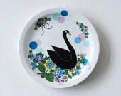RESERVED listing for Savannak, three swan plates