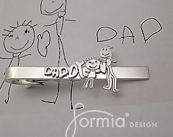 """Shop """"kids drawing jewelry"""" in Cuff Links & Tie Clips"""