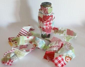 Fabric trim ribbon christmas 1 yard