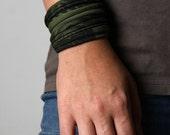 Bracelet, Gifts for Women, Green Bracelet, Wrap Bracelet, Cuff Bracelet, Womens Bracelet, Gift For Her, Girlfriend Gift, For Girlfriend