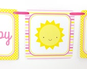 You Are My Sunshine Party Banner, Sunshine Birthday Banner, Sunshine Banner, Sunshine Party Decoration