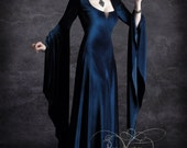 Aislinn Hooded Dress - Fairy Tale Romantic Wedding Dress Handmade To Your Measurements & Colors (including plus size!) Romantic Gothic Dress