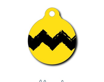 Pet Tag - Pet ID Tag - Dog Tag - Cat Tag - Lunch Box Tag - Bag Tag - Luggage Tag - Personalized Charlie Brown Tag