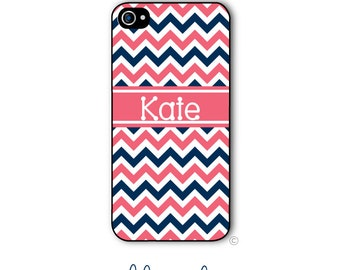 Chevron Phone Case Monogram iPhone 6 Case iPhone 6s Case Samsung Galaxy S5 S6 Case iPhone 5 iPhone 6 Plus iPhone 5c Style 208a