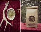 Wildcrafted SMUDGE BLEND Sacred Smoke of Cedar, Juniper, Yarrow and Mugwort