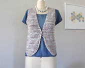 Knit Vest, Sweater Vest, Cropped Vest, Knit Top