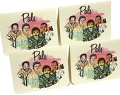 Magnum P.I. Pals Greeting Cards - Set of 4 Thank You notes with envelopes- Magnum pi, Tom Selleck, thanks, guys, friends, groomsmen