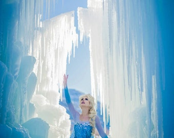 8x12 Snow Queen Photo Print (Traci Hines) *ready to ship