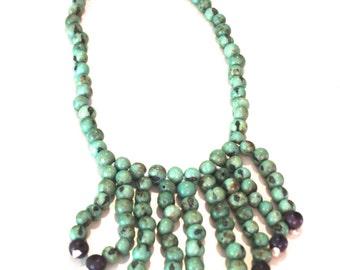 Acai Seed Necklace / Ecofriendly and Ecofashion Jewelry, Boho Jewelry, Boho chic