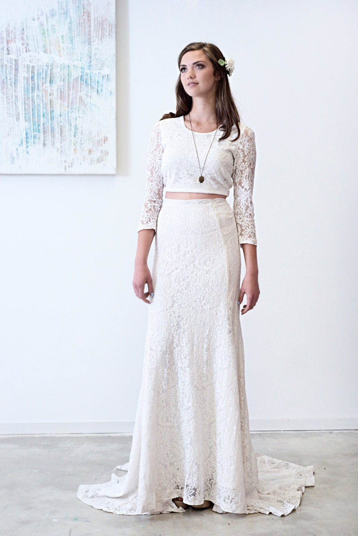 Joni wedding dress boho wedding separates long sleeved details introducing the joni dress ombrellifo Choice Image