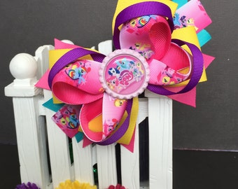 My Little Pony Cute bow for babies, toddlers and big girls ~ Bow measures approximately 5.5 inches