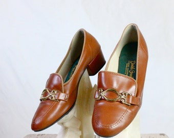 Vintage Toffee Daniel Green Loafers