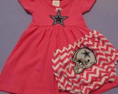 FREE SHIPPING on NFL Dallas Cowboys Outfit for Baby Girls