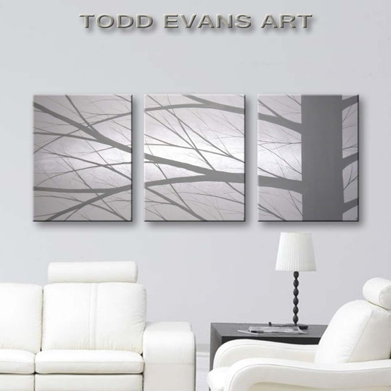 SALE Canvas Art Tree Painting Large Wall Art Home Decor Interior Wall