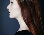 Labyrinth inspired Door Knocker Hair Clips