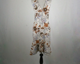 1970s Halter Dress by Taboo
