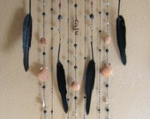 """Wall Hanging with Mystical Charms - """"Night Witch"""""""