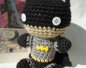 Crocheted Batman Doll