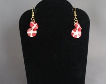 Peppermint Dangle Earrings