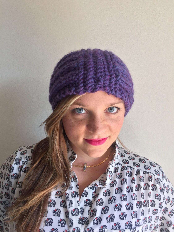 Thick Knit Headband Chunky Knit Ear Warmer Yoga Gift For
