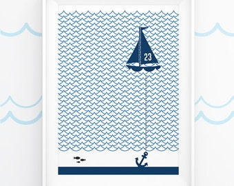 Set Sail - Digital Print