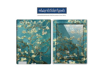 Van Gogh Blossoming Almond Tree Decorative Decal iPad Cover Skin