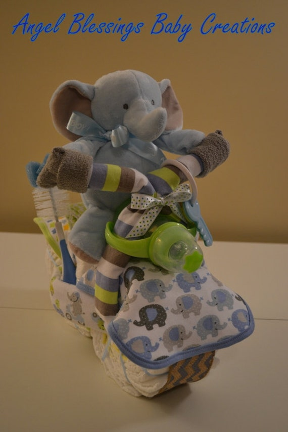 Cake Made Of Diapers For Baby Shower Part - 31: Like This Item?