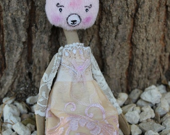 Romantic Doll - Nours The pink Fairy Forest