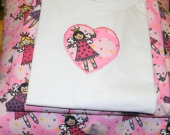 Fairy Pajamas & Pillow