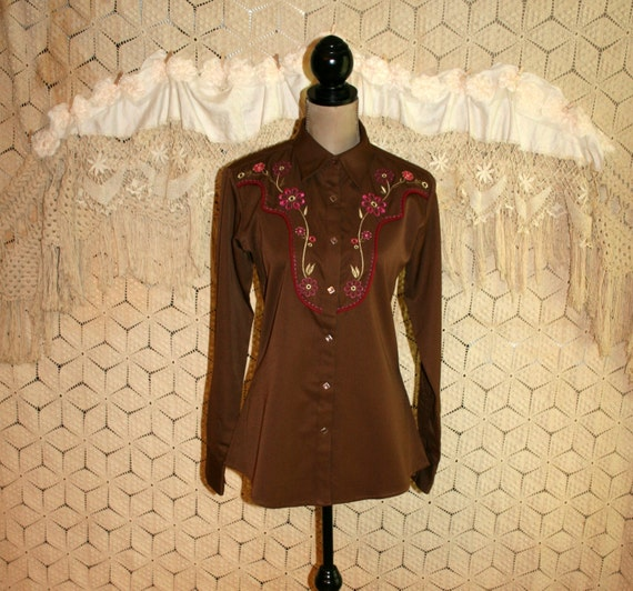 vintage western shirt womens western clothing