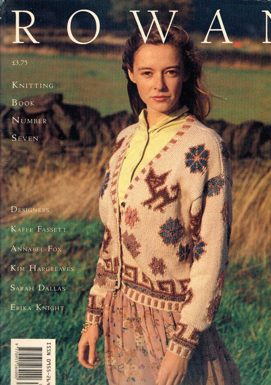 Rowan Knitting Books : Rowan knitting book seven