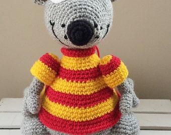 Toopy crochet doll, amigurumi