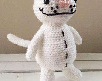 Binoo crochet doll, amigurumi