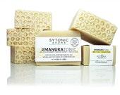 MANUKA HONEY SOAP - Manuka Honey + Kaolin Clay (6.1 to 6.5 oz) - All Natural, Handmade, Cold Process, Essential Oil Soap