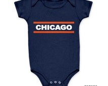 Popular Items For Chicago Bears Baby On Etsy