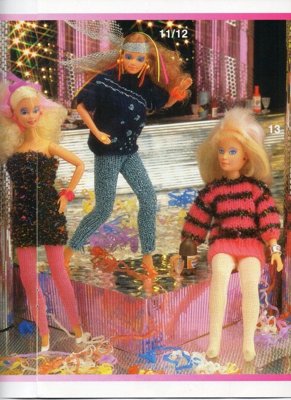 Knitting Patterns For Teenage Dolls : teenage dolls clothes knitting patterns Sindy Barbie party