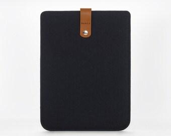 iPad Mini Cover -  iPad Mini Case - iPad Mini Leather - Felt and Leather Case